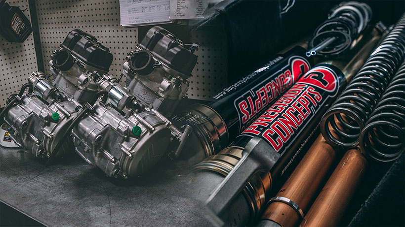precision concepts off road racing shocks