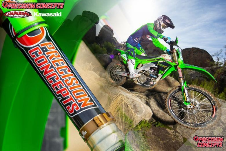 precision consepts kawasaki off road racer