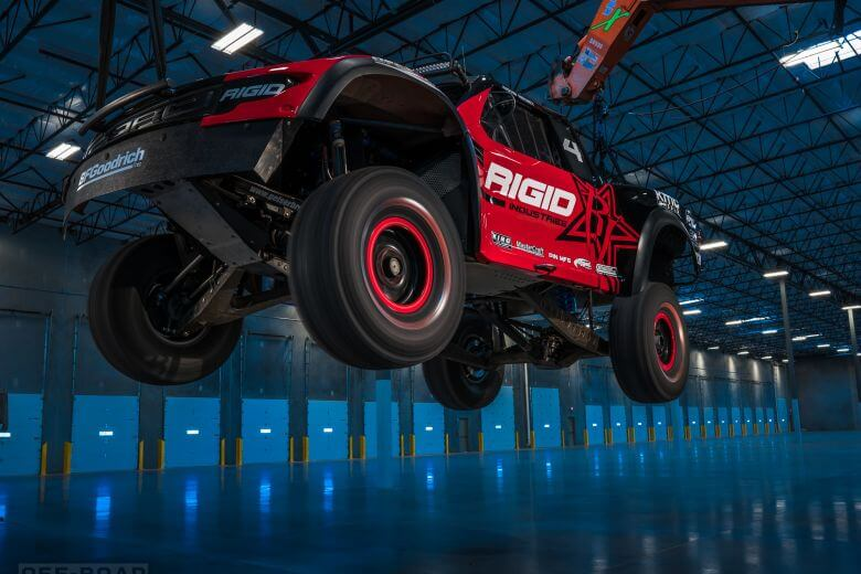 rigid trophy truck