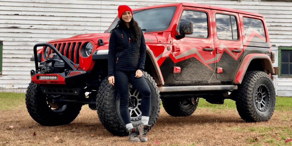 tiffany stone jeep off road racer