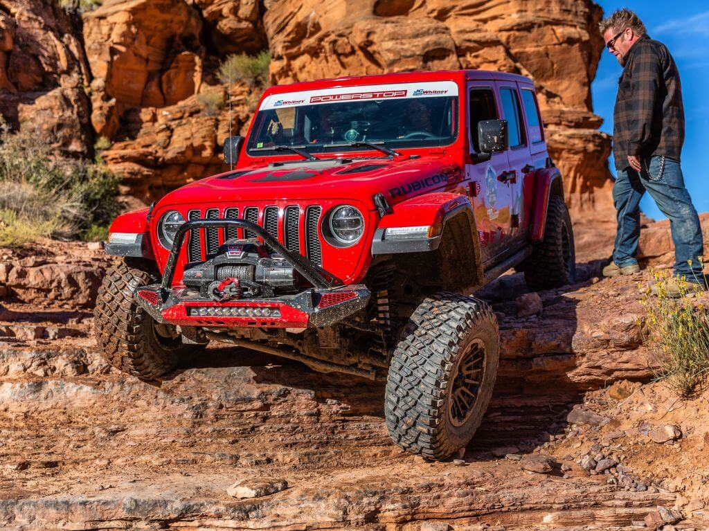 tiffany stone off road racer jeep rock crawling