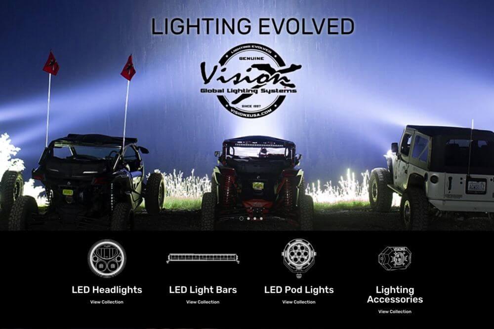 visionx off road lighting off road racer header