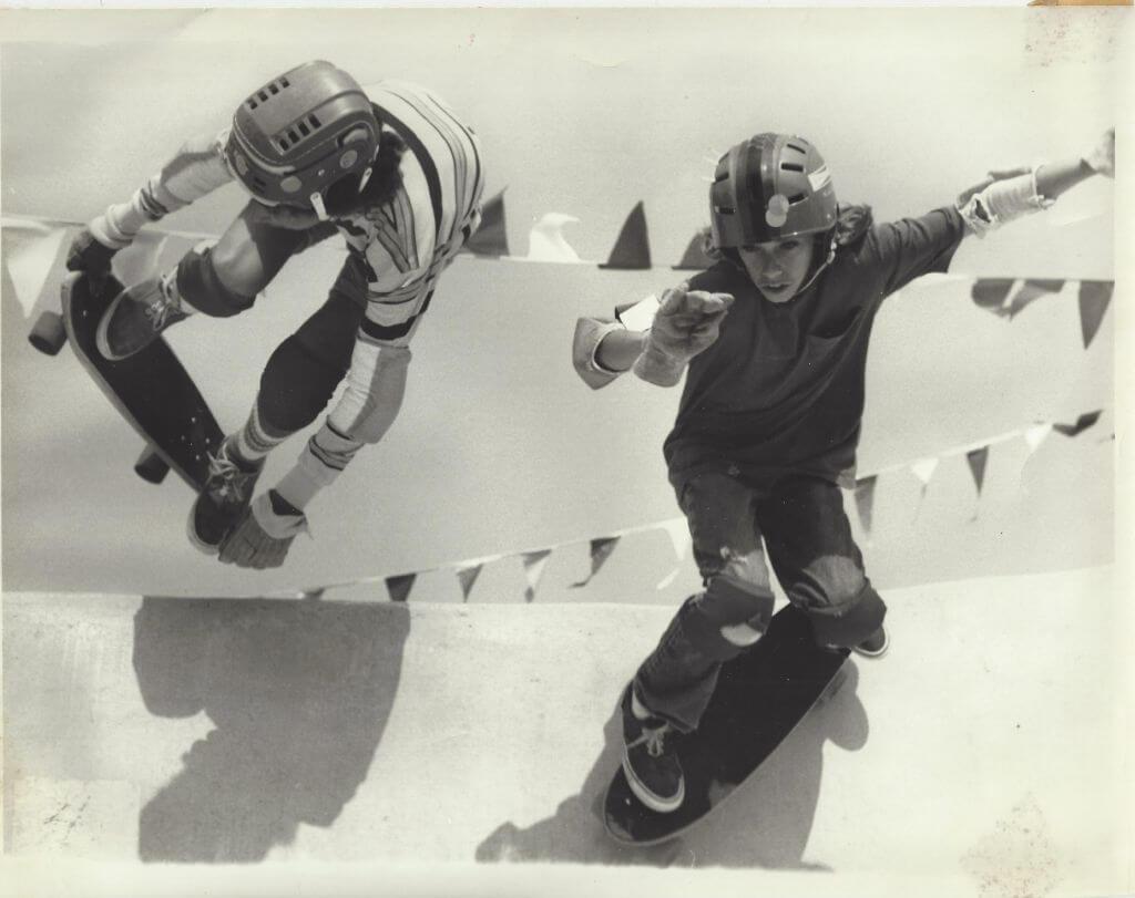 SKX lou peralta skateboarding