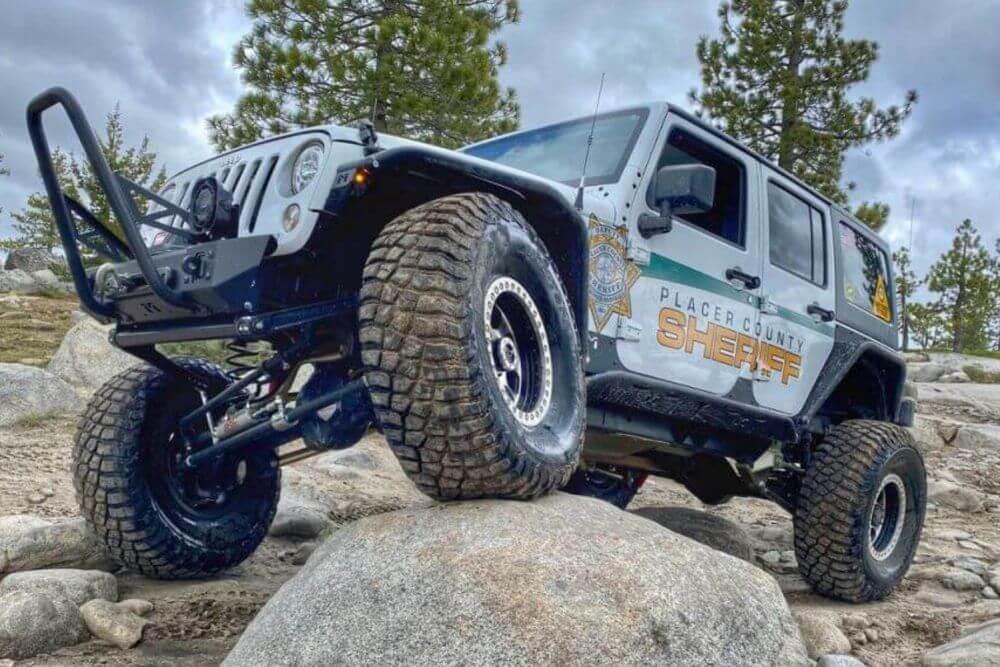 BFGoodrich Mud Terrain Tires on Patrol Jeep