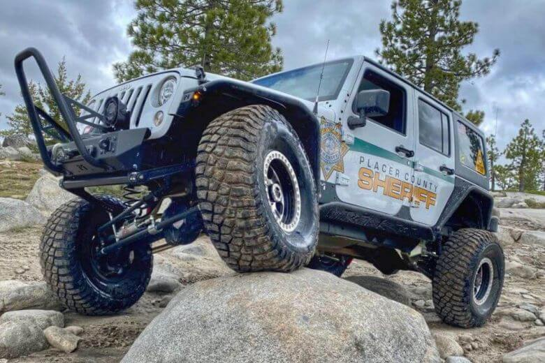 BFGoodrich Mud Terrain Tires on Patrol Jeep