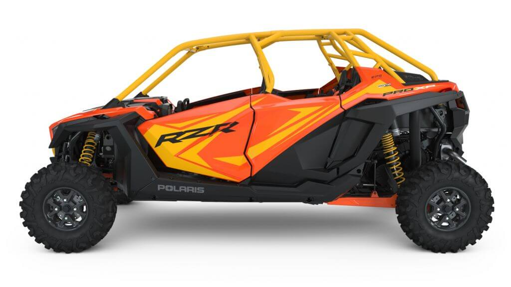 Polaris RZR PRO XP Orange Madness Seater driver left side