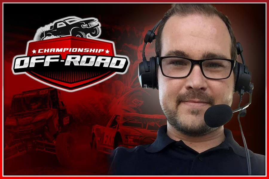 championship offroad broadcast team annoucer Brent Smith