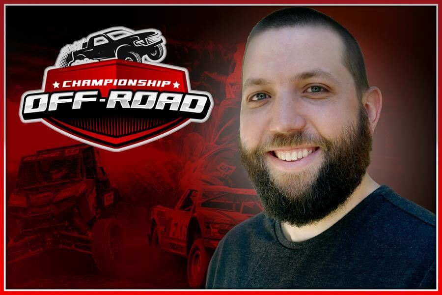 championship offroad broadcast team annoucer Cheyne Statezny