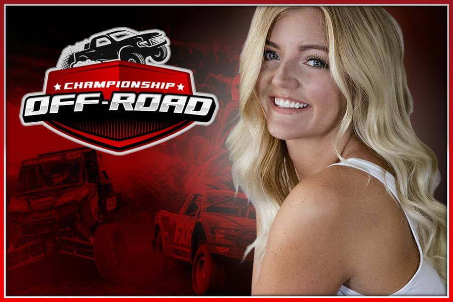 championship offroad broadcast team annoucer Haley Shanley