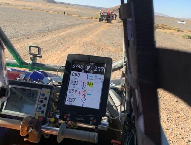 dakar digital roadbook