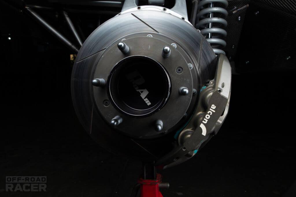 Mason 4wd Sourapas details brakes
