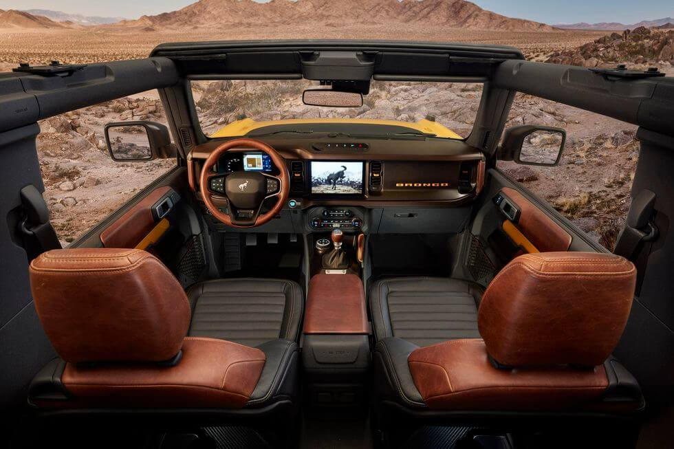 ford bronco off road