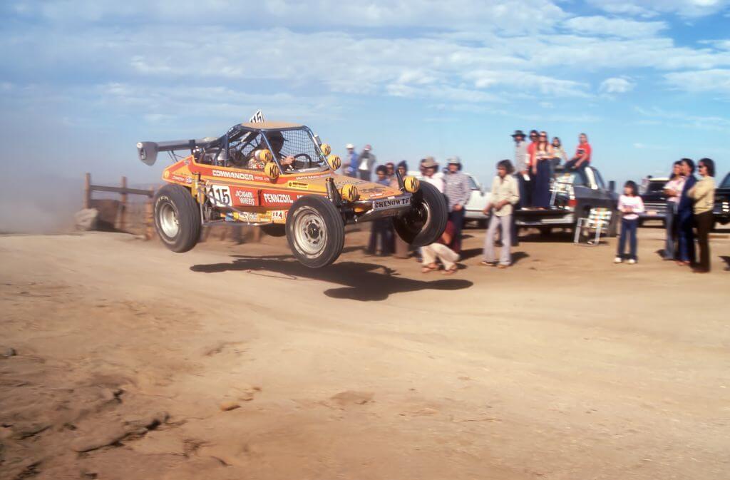 Ivan stewart Baja 1000 1977