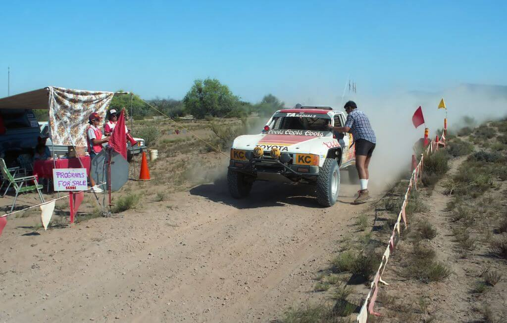 Ivan stewart Baja500 1985