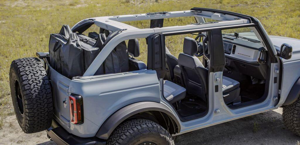 ford Bronco dr features
