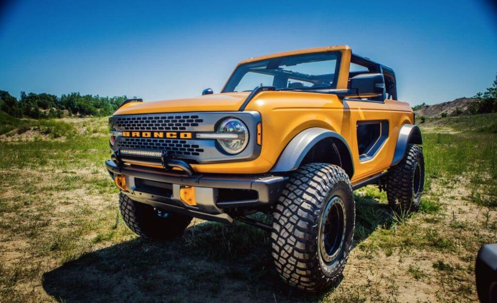 ford bronco reveal