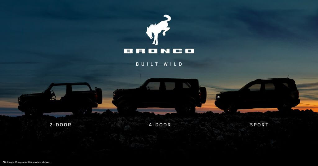 new ford bronco is built wild and offers exciting experiences