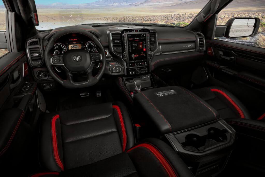 ram TRX cockpit