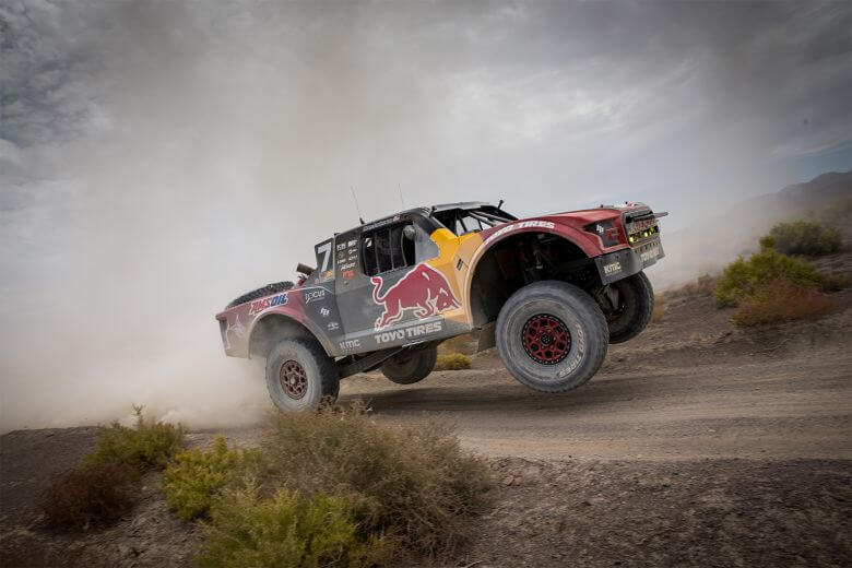 Bryce Menzies vegas to reno off road racer