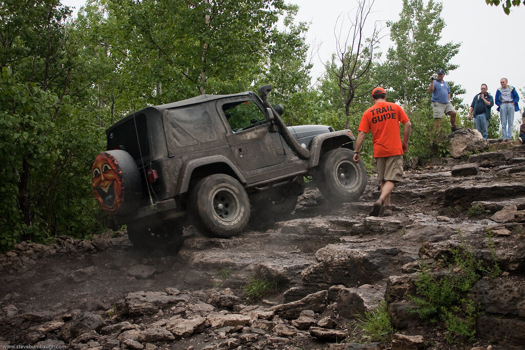 MICHIGAN Drummon island off road racer