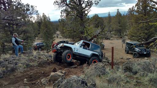 OREGON rim butte ohv off road racer