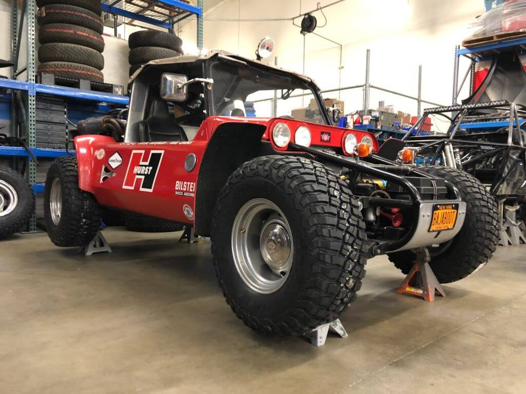 baja boot off road racer
