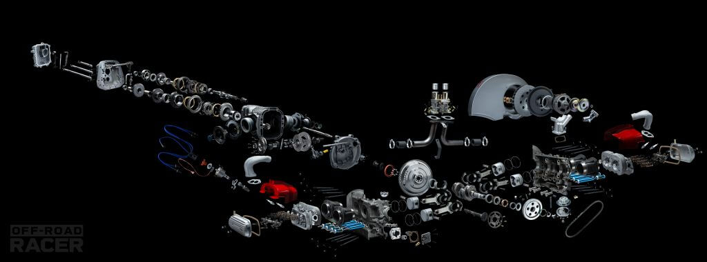 engine transmision exploded view volkswagen