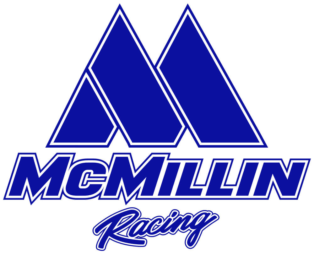 mcmillin racing logo stacked