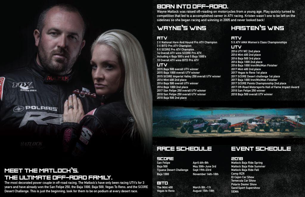 matlock racing media kit generic spreads