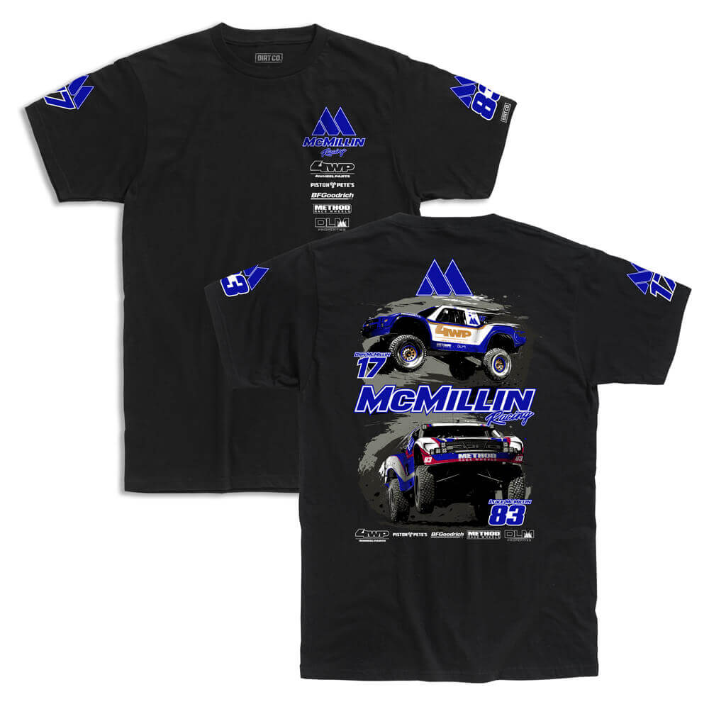 mcmillin team shirts two up