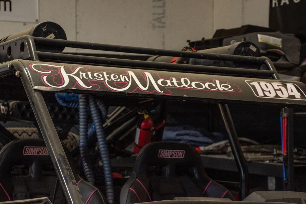 kristen matlock off road racer