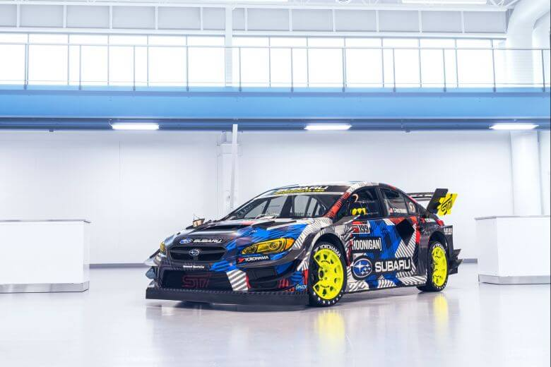 travis pastrana gymkhana off road racer