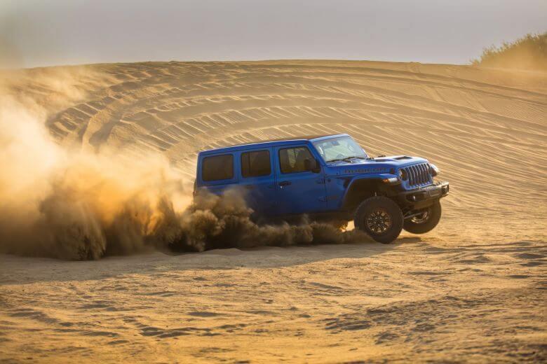 FCA Jeep Wrangler Rubicon