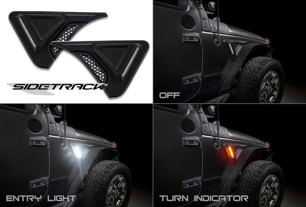 Oracle Lighting Jeep Sidetrack LED Lighting System