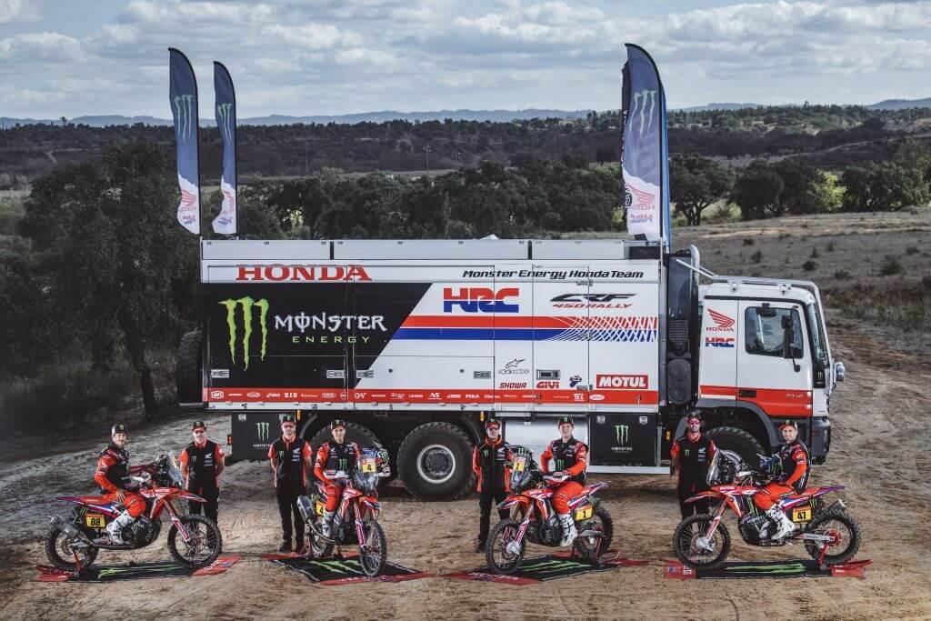 Monste Energy Honda Rally Team