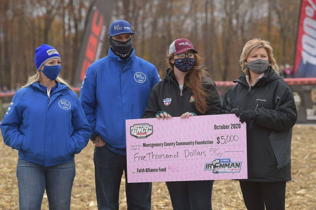 gncc ironman race for the cure support