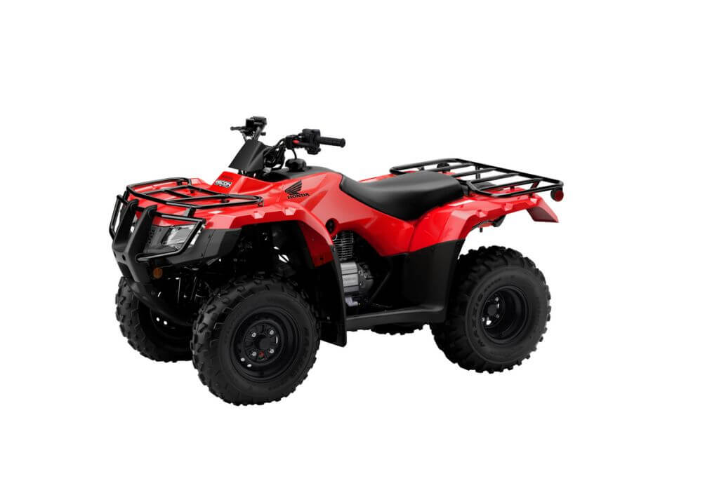 Honda FourTrax Recon ES Red x