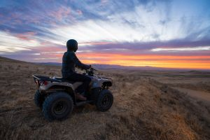 Honda FourTrax Recon action lifestyle x