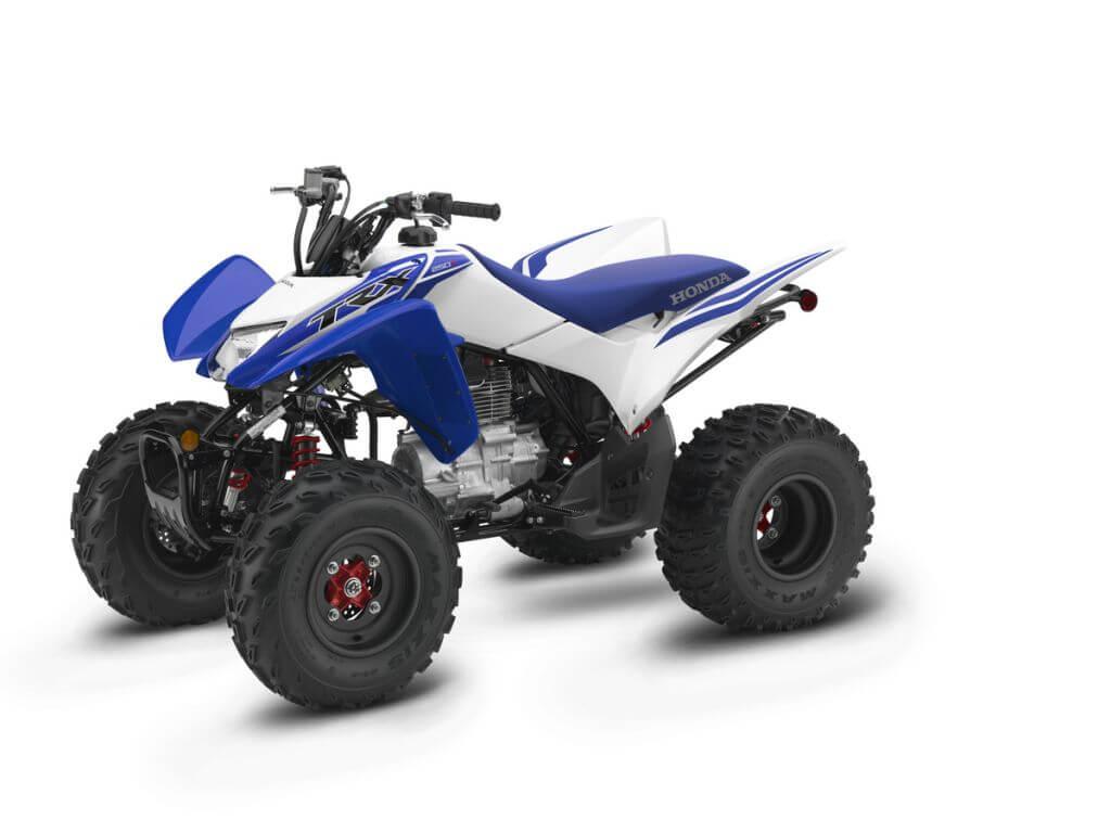 Honda TRXX Reactor Blue x