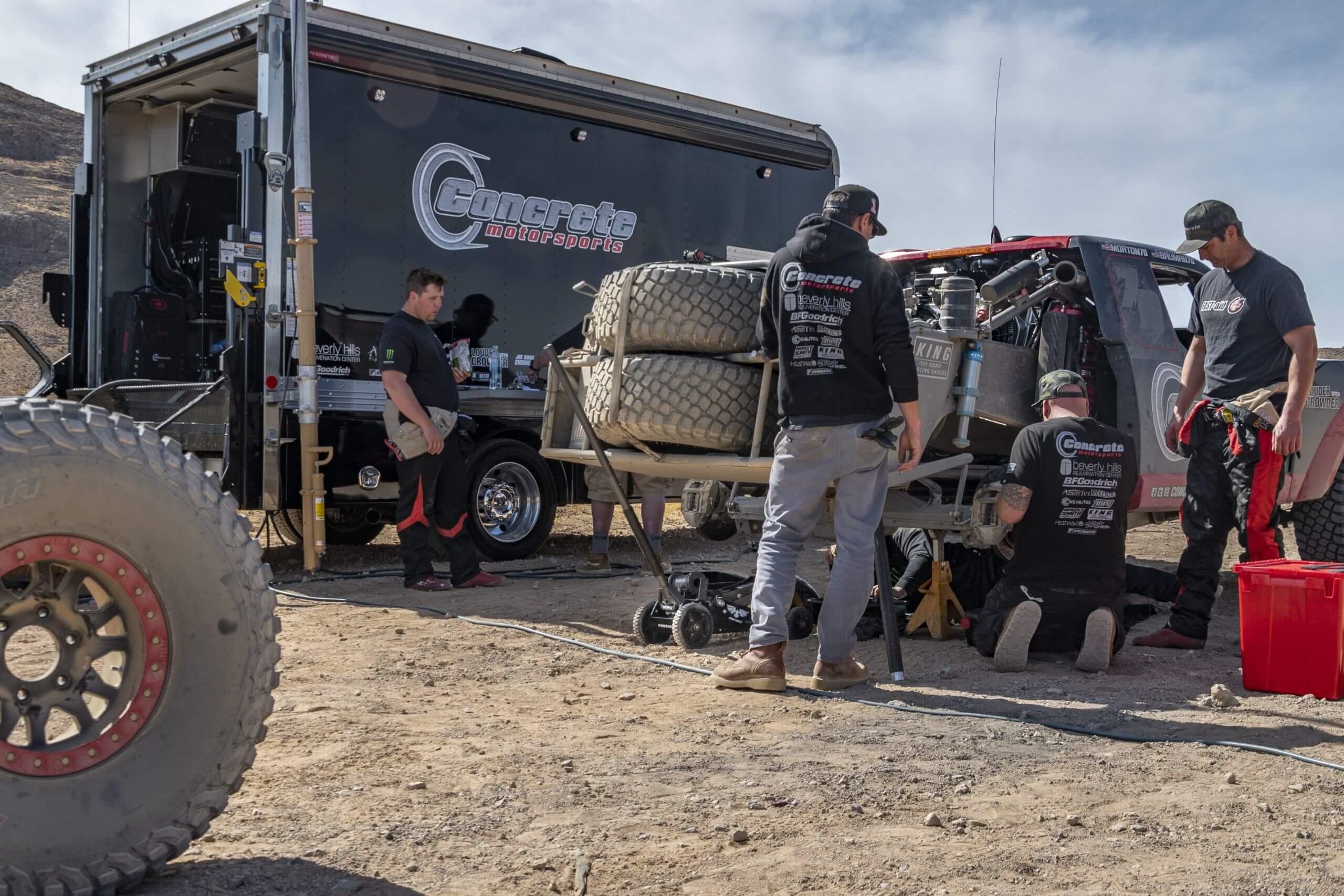 Concrete Motorsports Testing
