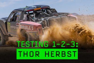thor herbst baja testing